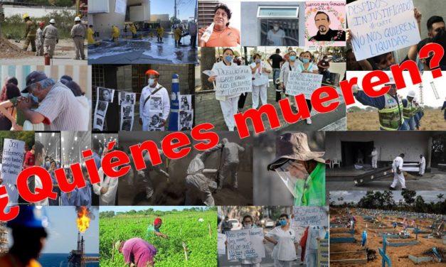 ¿Quiénes son los que mueren de coronavirus en México?