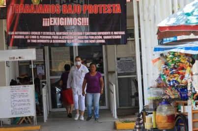 Deterioro en el sistema de salud, no es nuevo: trabajadores del sector se organizan en Chiapas